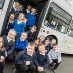 Year 5 Visit the Tommy Armstrong Bus
